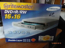 WRITEMASTER SAMSUNG SH-W162 16X DVD + - R8X -R4X  Dual Layer DVD