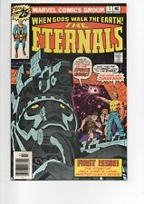 The ETERNALS #1 comic book from 1976 in VF/NM 9.0...JACK KIRBY....Only $9.95
