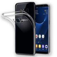 Silikoncase Transparent 0,3 mm Ultra dünn Case für Samsung Galaxy S8 Plus G955F