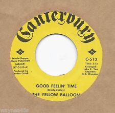 YELLOW BALLOON (Don Grady) * 45 * Good Feelin' Time * 1960's * USA MY THREE SONS