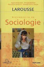 DICTIONNAIRE DE SOCIOLOGIE - Sous la direction de Raymond Boudon - B