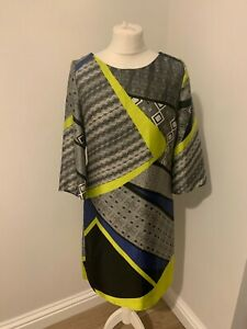 Lovely womens patterned dress from Linea, size 10, great condition