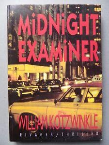 William KOTZWINKLE, MIDNIGHT EXAMINER, thriller, littérature américaine