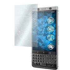 3 x BlackBerry KEYone (Mercury) Film de Protection Verre Trempé clair