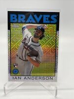 ⚾️ 2021 Topps Series 1 Ian Anderson Silver Pack RC Chrome Mojo 1986