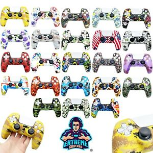 EGP™ ULTIMATE Case Grips Silicon Rubber Cover Protective Skin for PS5 Controller