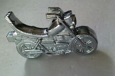 "Novelty Replica Butane MOTORCYCLE LIGHTER 2 2/3""x1 1/2"" (Small light flame)"