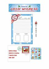 Children's Dear Santa Christmas Letter Kit with Rubbers Pencils Xmas Style 1