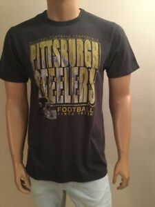 Junk Food Pittsburgh Steelers Football Men's T-Shirt Size M
