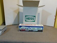Lot Of 6 VTG. 1992 Hess Trucks 18 Wheeler & Racer New In Original Shipping Box
