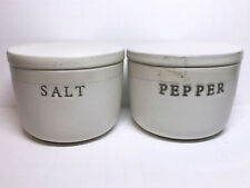 Hearth and Hand with Magnolia Salt and Pepper Cellar Stoneware New