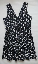 Women`s Next Dress Print Navy Sleeveless Size 14