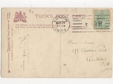 London 1905 E Crown R Machine Cancellation 294a