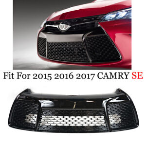 Fits 2015 2016 2017 TOYOTA CAMRY SE Bumper Lower Grille Hood Grill Replacement