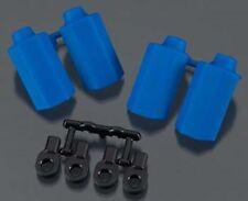 RPM Shock Shaft Guard Blue Traxxas Slash (4) RPM80405