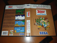 # Sega Master System-asterix and the Secret Misión Classic-Top/MS juego #