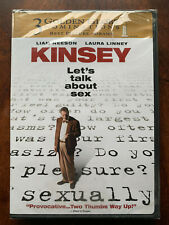 Kinsey DVD 2005 Liam Neeson True Life Sex Doctor Movie Drama Region 1 BNIB