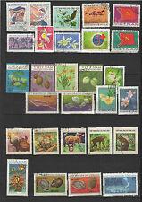 années 70 Viêt Nam un lot de timbres oblitérés  / T1693
