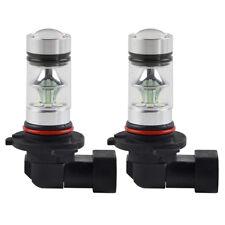 2pcs 9006 HB4 Ice Blue High Power LED Projector Bulbs For Car Driving Fog Light