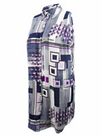 Alfani Women's Plus Size Geometric-Print Tunic Top