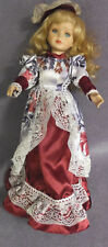 Ashley Belle 16 inches Tall Porcelain Doll with Stand Ashley Belle Dolls