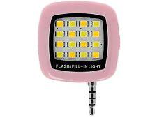 Rechargeable Selfie Ring Light LED 3-Level Adjustable Brightness Night lighting