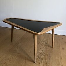 CHARLES RAMOS Table Basse Tripode French Vintage Design 1960 Gascoin Hitier