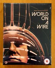 World on a Wire (1973) Limited Edition Blu Ray Second Sight New/Sealed