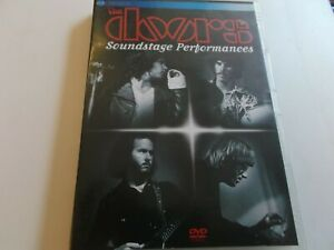 THE DOORS,SOUNDSTAGE PERFORMANCES,DVD 120 MINUTES APPROX