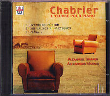 CHABRIER Piano Duo Alexandre THARAUD Aleksandar MADZAR CD Espana valses romantic