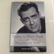 Raymond Burr Bio Secret Gay Life Movie TV Star Perry Mason Ironside  HC/DJ