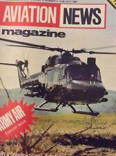 Aviation News Magazine Westland Gazelle July 13-26, 1984 021119nonrh