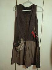 gabriella  frattini  funky  dress  trapeze grey