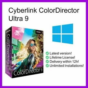 CYBERLINK 🔥COLORDIRECTOR 🔥ULTRA V9.0.2205.0 ✅(X64) PRE-ACTIVATED✅
