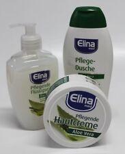 (18,43€/L ) Elina med Aloe Vera Duschgel,Flüssigseife + Hautcreme Aloe Vera