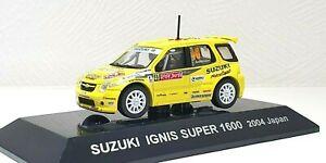 1/64 CM's 2004 SUZUKI IGNIS SUPER 1600 #40 ANDERSSON RALLY JAPAN diecast model