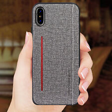 Shockproof Hybrid Case With Magnetic Lether For iPhone XS MAX XR 8 7 6 Plus