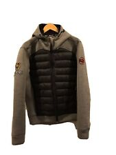 Superdry Hybrid Quilted Hooded  Jacket Large