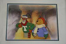 Winnie the Poo original production cel. Tigger and Winnie.