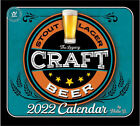 Legacy Craft Beer Wall Calendar 2022       w