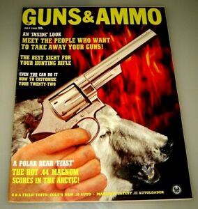 GUNS & AMMO Magazine July 1965 - Vintage Original Gun magazine