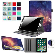 """For iPad Pro 11 12.9 2020/iPad 10.2'' 7th 9.7""""Multi-Angle Cover Case with Pocket"""