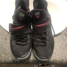 64a0a0c8eca4 Nike Men s Lebron 14 XIV Bred University Red 852405 004 Size 9