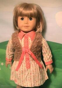 Cute Dress and Vest Outfit  for 18 inch  Dolls TLC