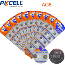 100  AG6 Uhren Batterie LR921 GP91A SR920W LR69 171 920 Button Coin Cell PKCELL