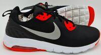 Nike Air Max Motion Low Trainers 844895-002 Black/Crimson/White UK9/US11.5/EU44