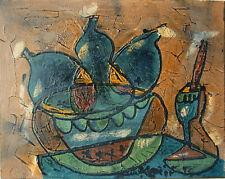 Bohumil Samuel Kecir (1904-1987) Obstschüssel mit Eisbecher (i 58)