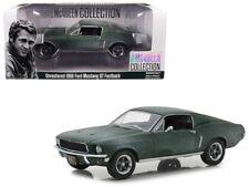 1968 Steve McQueen Mustang GT Unrestored 1:24 Diecast Model - Greenlight 84043 *