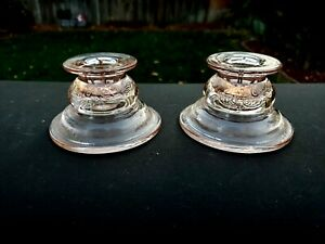 Pink Recollection Madrid Candlestick Pair