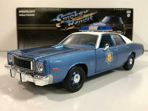 Smokey and the Bandit 1975 Plymouth Fury 1:24 Scale Greenlight 84102